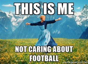 not care football