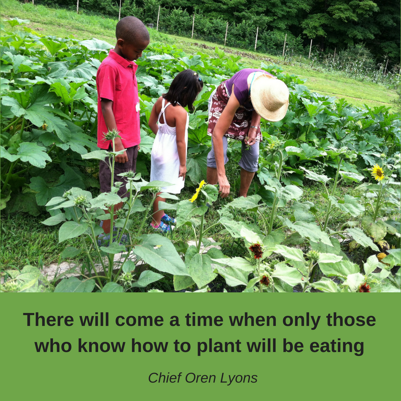 There will come a time when only those who know how to plant will be eating